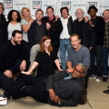 Quentin Tarantino and the cast of his The Hateful Eight liveread