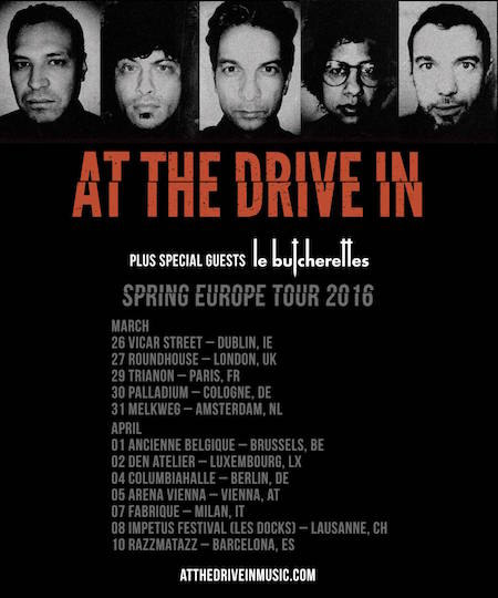 at the drive in world tour 2016 _ list