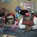 gorillaz in studio
